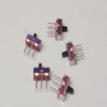 Miniature Slide Switch  - Pack of 5